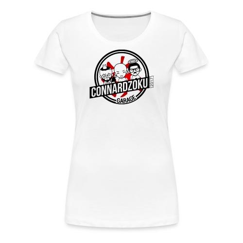 Connardzoku Garage - T-shirt Premium Femme