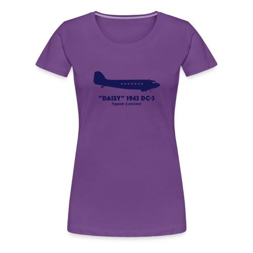 Daisy Silhouette Side 2 - Premium-T-shirt dam