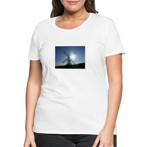 Norfolk Broads Windpump - Women's Premium T-Shirt