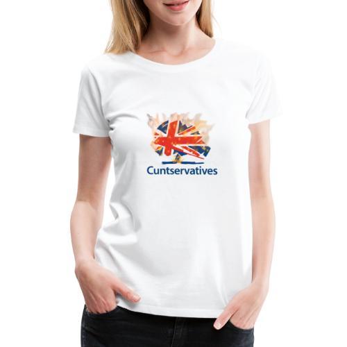 Brexit Death of a Nation - Women's Premium T-Shirt