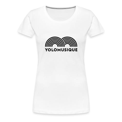 yoloSVG - T-shirt Premium Femme