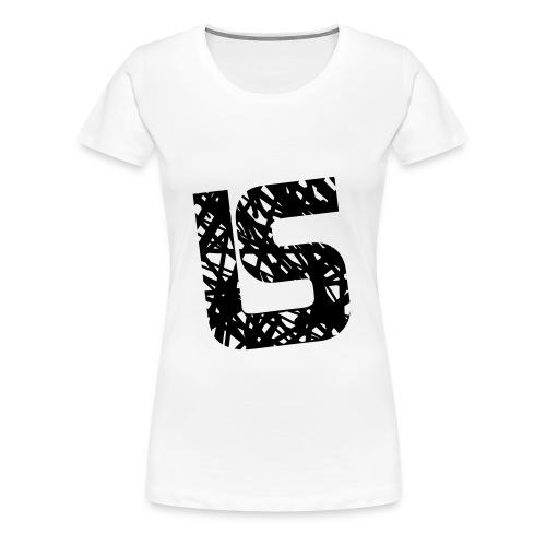 Sweatshirt à capuche Homme LS design - T-shirt Premium Femme