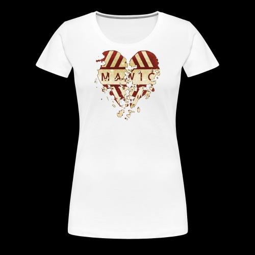 Mawic sup. - Dame premium T-shirt