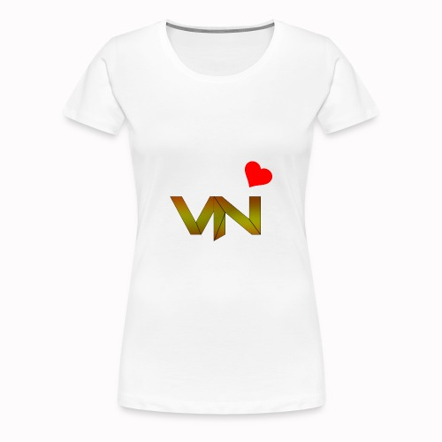 vN Render Gold png - Frauen Premium T-Shirt