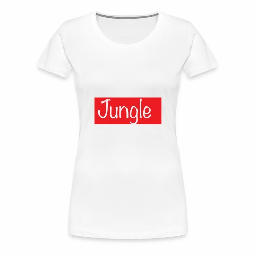 Jungle box logo - Vrouwen Premium T-shirt