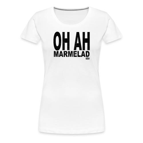 Marmelad5black - Premium-T-shirt dam