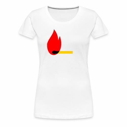 firewood - Frauen Premium T-Shirt