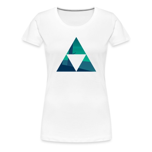 Triforce - T-shirt Premium Femme