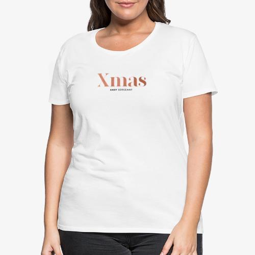 Kerstmis - Vrouwen Premium T-shirt
