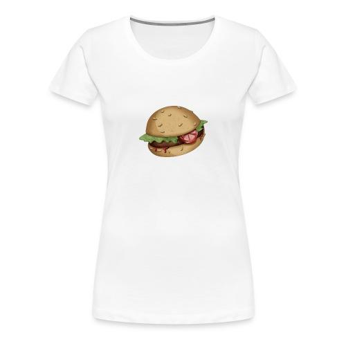 Burger - T-shirt Premium Femme