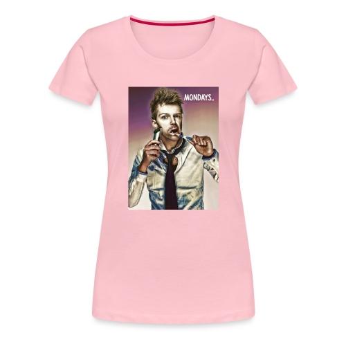 Rush hour on monday - Women's Premium T-Shirt