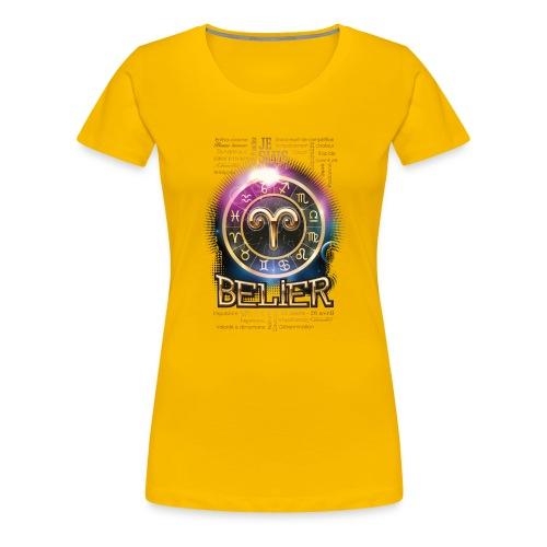 BELIER - T-shirt Premium Femme