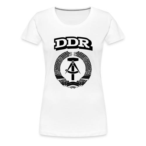 DDR T-paita - Naisten premium t-paita