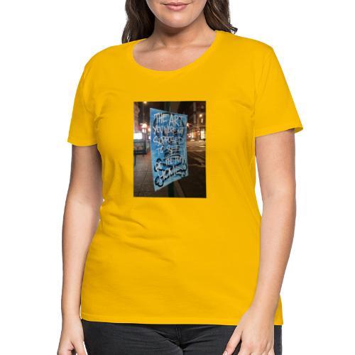 POLO K_T_M LA_FAMIGLIA X iorestoacasaArtistiUniti - Maglietta Premium da donna