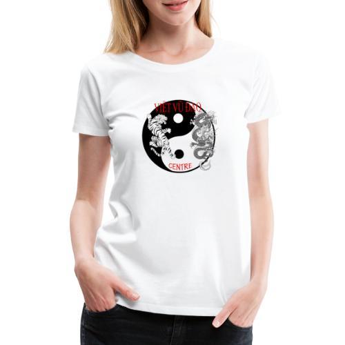 logo grand - T-shirt Premium Femme