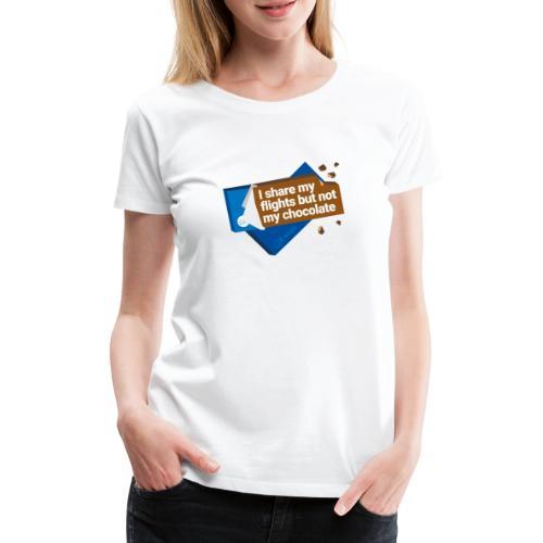 Share my flights - Women's Premium T-Shirt