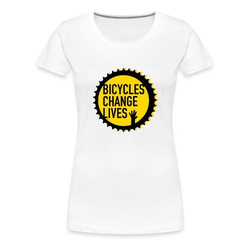 BCL Yellow Cog - Women's Premium T-Shirt