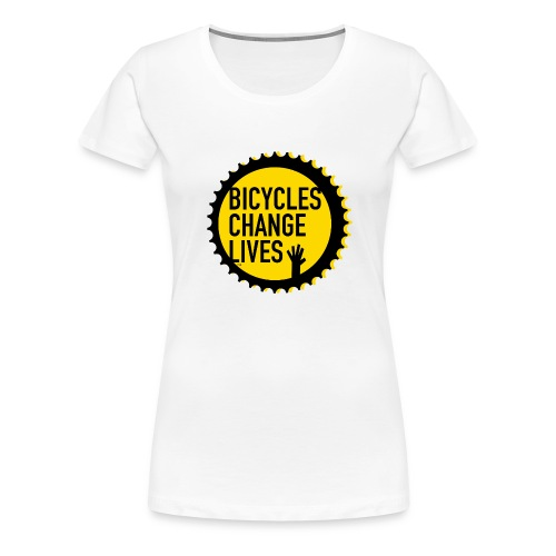 BCL Yellow Cog - Women's Premium T-Shirt