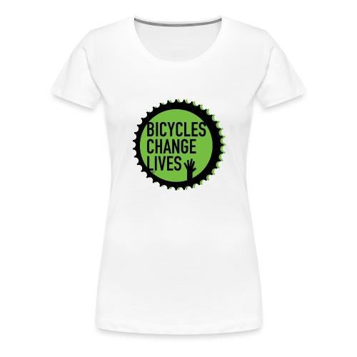 BCL Green Cog - Women's Premium T-Shirt