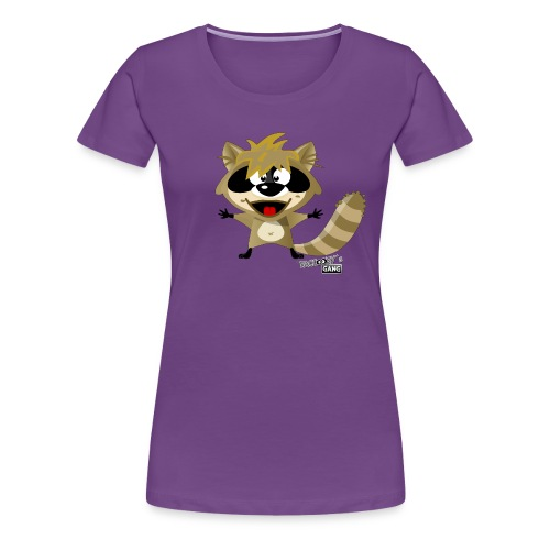 racconys gang sugar png - Frauen Premium T-Shirt