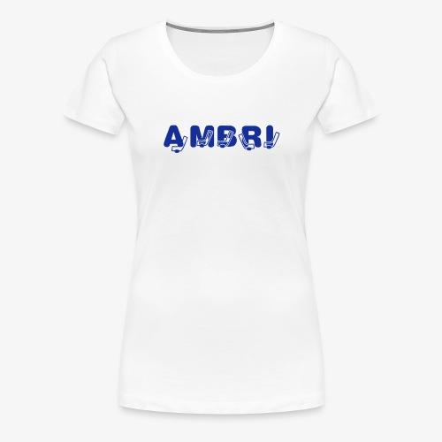 HockeyStick-AMBRI-Shirt - Frauen Premium T-Shirt