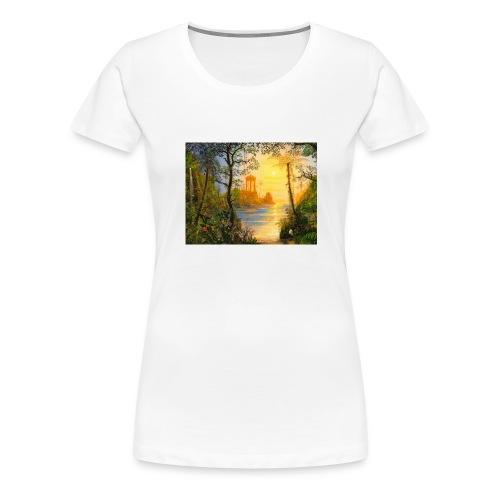 Temple of light - Women's Premium T-Shirt