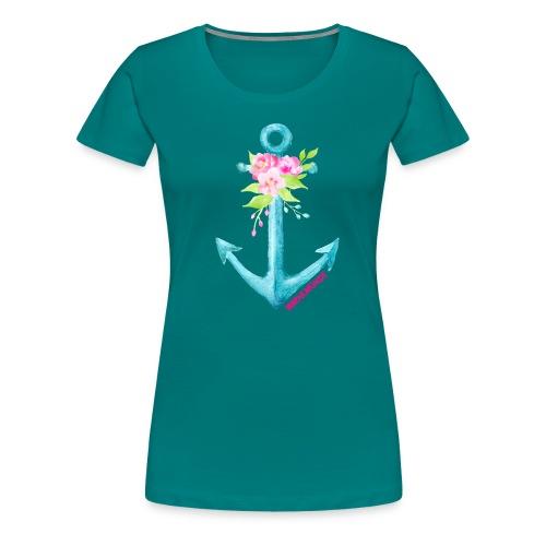 warnemuende print 01 png - Frauen Premium T-Shirt