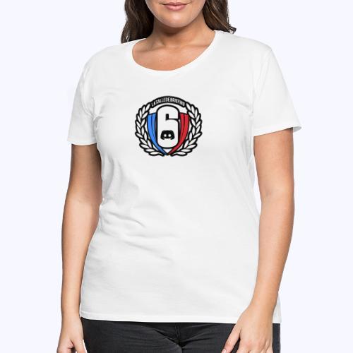 Logo LaSalleDeBriefing Contouré - T-shirt Premium Femme