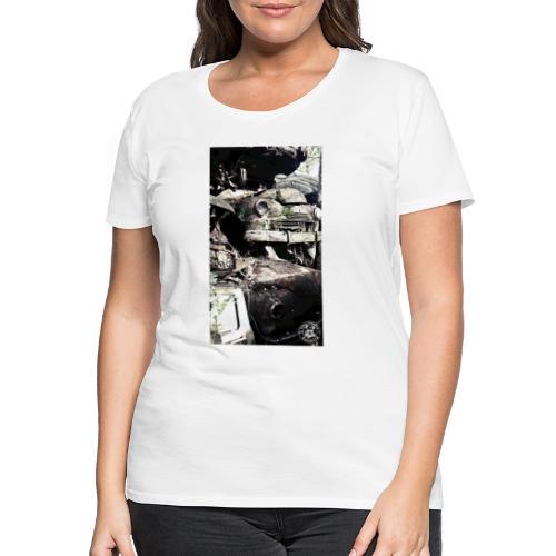 Old cars - Frauen Premium T-Shirt