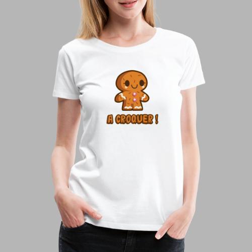 Biscuit - T-shirt Premium Femme