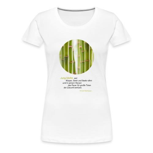 Steinhauser Das Geheimnis der Junggebliebenen - Frauen Premium T-Shirt