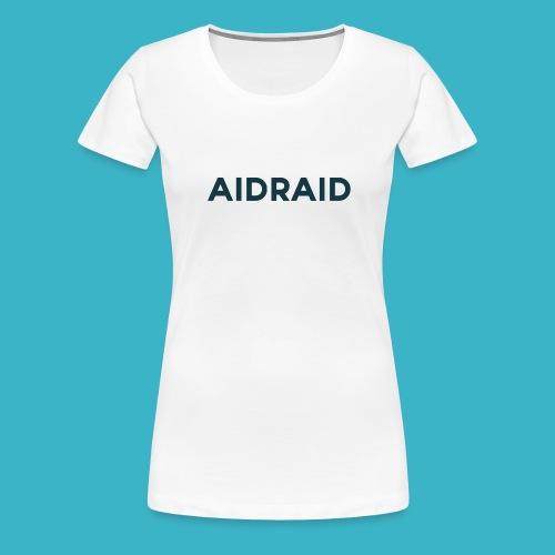 Aid Raid Simples Shirt Design - Frauen Premium T-Shirt