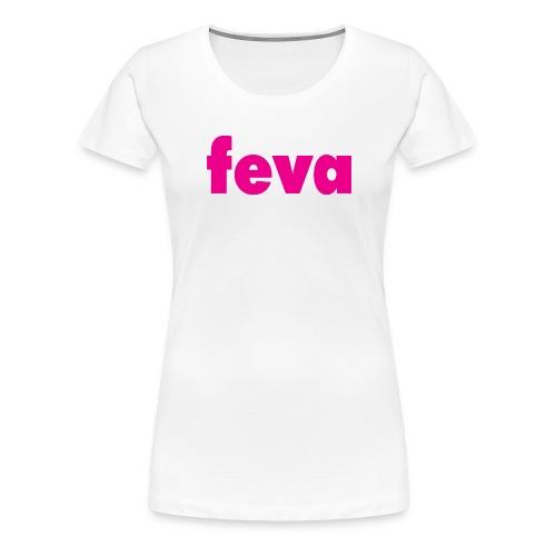 feva logo HR gif - Women's Premium T-Shirt