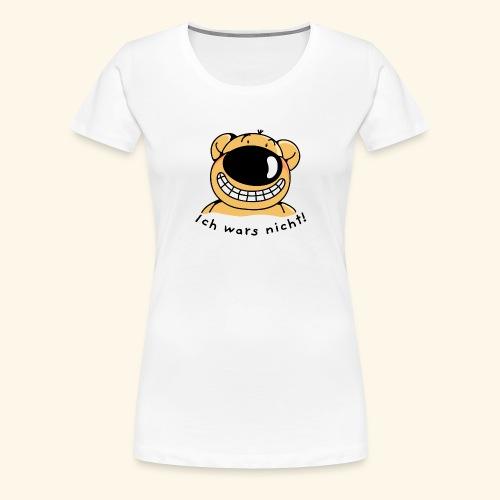 Ich wars nicht Ich bin unschuldig - Frauen Premium T-Shirt