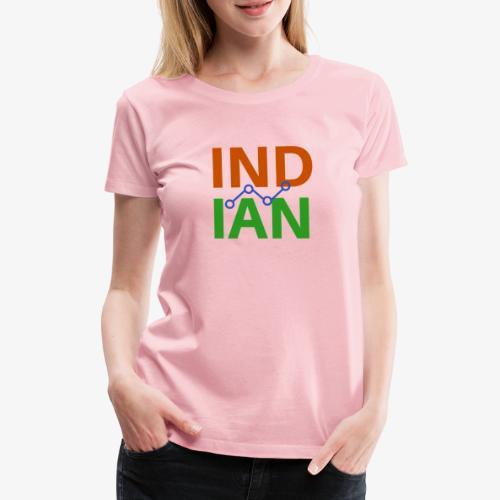 INDIAN CUSTOMISED TSHIRT - Premium-T-shirt dam