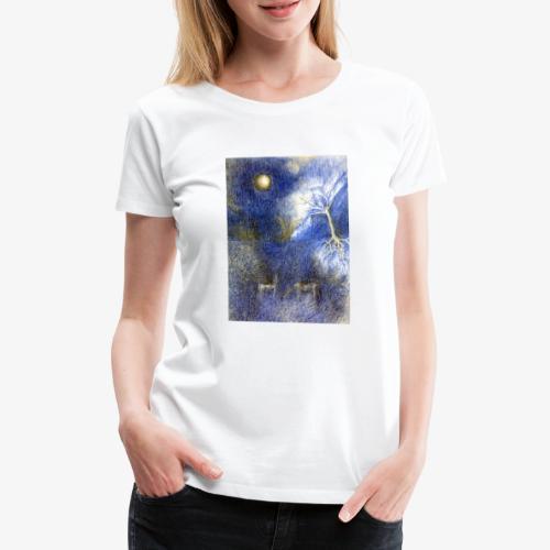 In Night On Meadow - Koszulka damska Premium