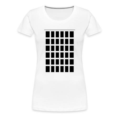 Raster - Frauen Premium T-Shirt