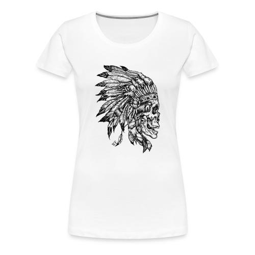 Skull WF - T-shirt Premium Femme