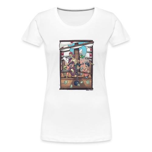 les pirates - T-shirt Premium Femme