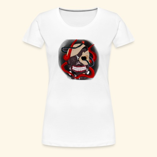 Tokyo Ghoul Tattoo design - Women's Premium T-Shirt