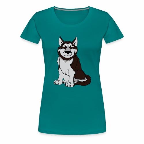 Husky - Frauen Premium T-Shirt