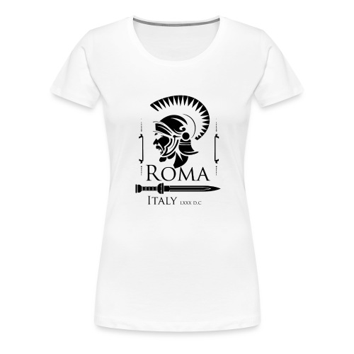 Legionario Romano con Elmetto - Women's Premium T-Shirt