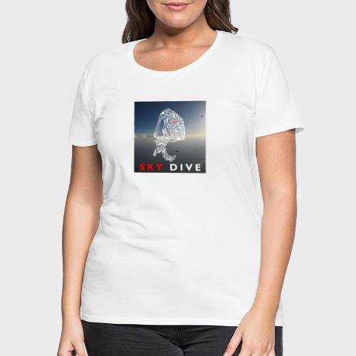 Fallschirm-Triangle - Frauen Premium T-Shirt