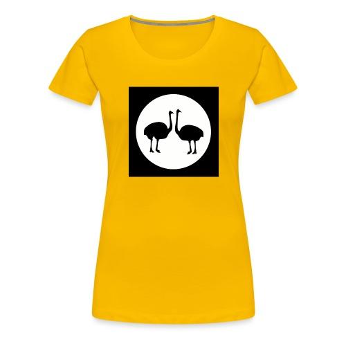 Strauß - Frauen Premium T-Shirt