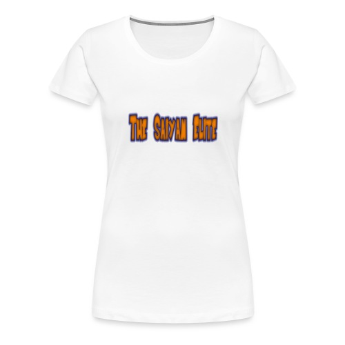 the saiyan elite design 1 - Women's Premium T-Shirt