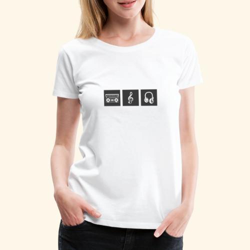 Music is Passion - Frauen Premium T-Shirt