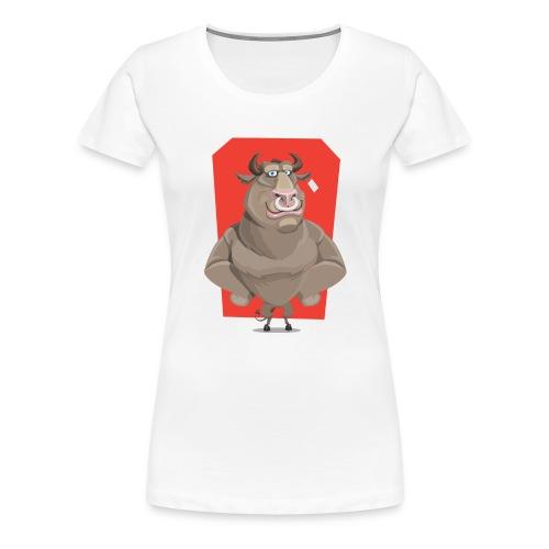 Starke Bulle - Frauen Premium T-Shirt