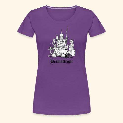 Heimatfront Mama Heimat Waffen Sohn Muttersöhnchen - Frauen Premium T-Shirt
