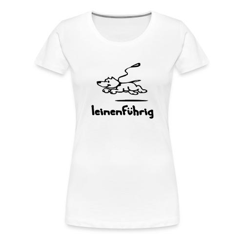 leinenführig - Frauen Premium T-Shirt