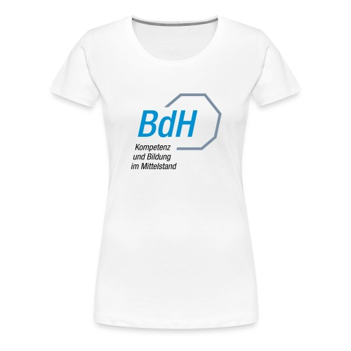 Logo Betriebswirte des Handwerks e V - Frauen Premium T-Shirt